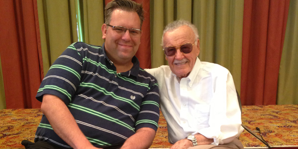 Stan Lee and Manfred